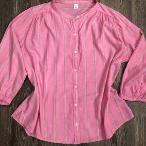 Pink blouse Old Navy